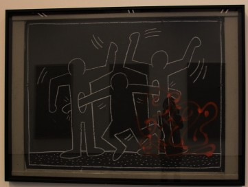 Keith Haring, Untitled Subway drawing 1980 - 1982