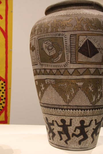 Keith Haring. Untitled vases, 1984