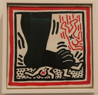 Keith Haring, Untitled (Free South Africa) 1985