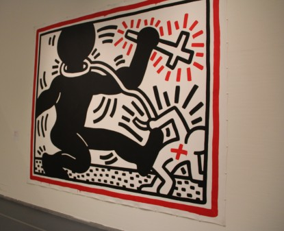 Keith Haring, Untitled (Apartheid) 1984