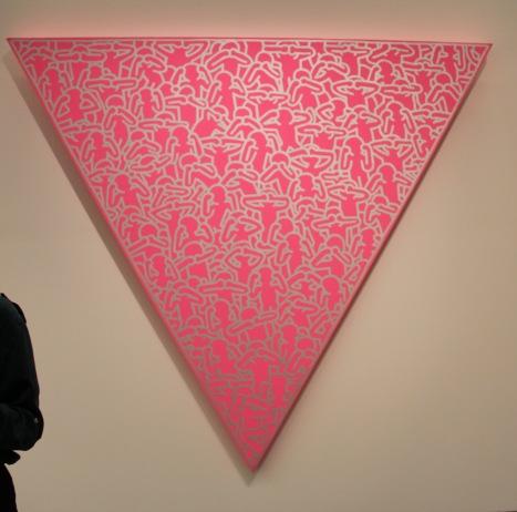 "Keith Haring ""Silence = Dead"" 1988"